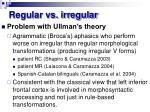 regular vs irregular1