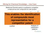 mining for chemical knowledge use case