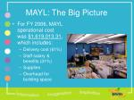mayl the big picture