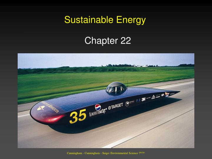 sustainable energy n.