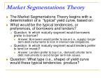 market segmentations theory1
