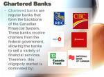 chartered banks