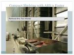 compact shelving with ars is faster