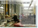 compact shelving with ars