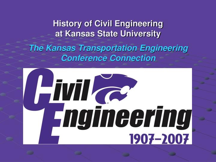 History of Civil Engineering