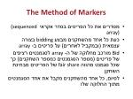 the method of markers1