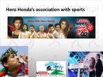 hero honda s association with sports1