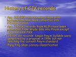 history of cjk records