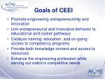 goals of ceei