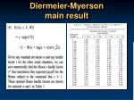 diermeier myerson main result