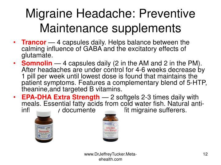 Migraine Headache:
