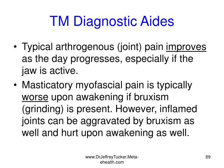 TM Diagnostic Aides