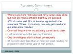 academic commitment