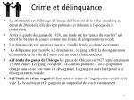 crime et d linquance