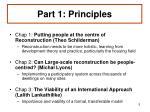 part 1 principles