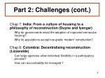 part 2 challenges cont