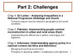 part 2 challenges