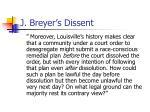 j breyer s dissent1