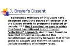 j breyer s dissent4