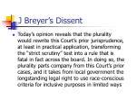 j breyer s dissent5
