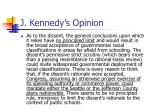 j kennedy s opinion6