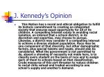 j kennedy s opinion7