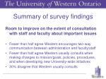 summary of survey findings5
