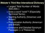 webster s third new international dictionary