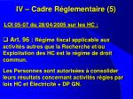 iv cadre r glementaire 5