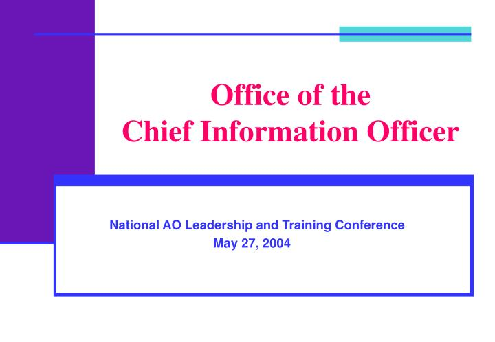 office of the chief information officer n.