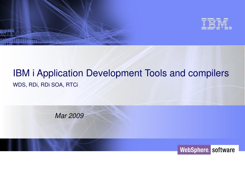 IBM i Application Development Tools and compilers