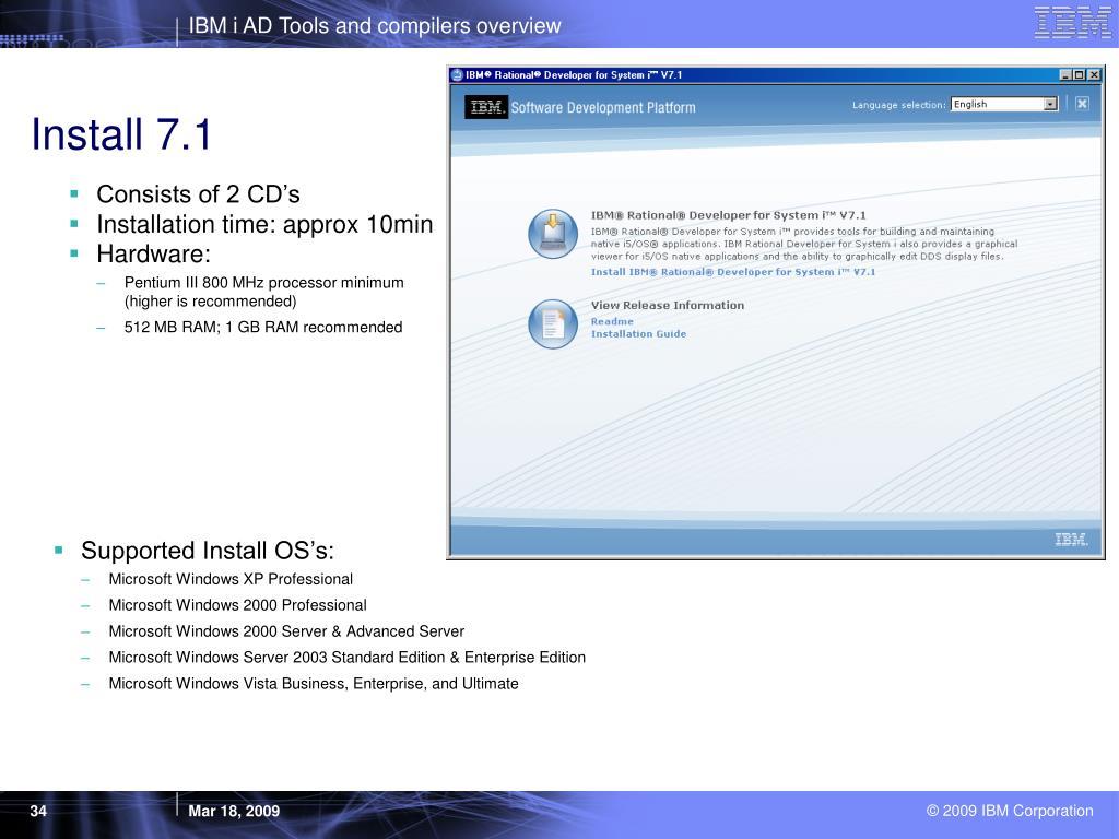 Install 7.1