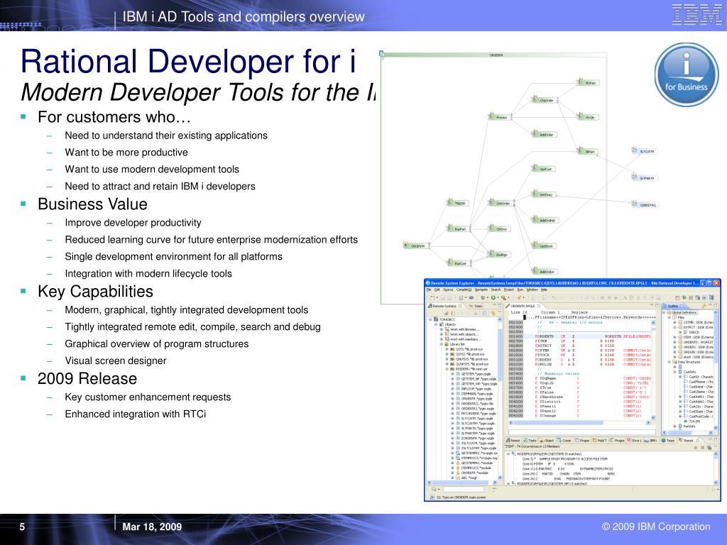 Rational Developer for i