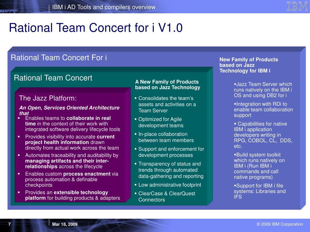 Rational Team Concert