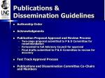 publications dissemination guidelines1