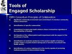 tools of engaged scholarship
