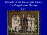 miracle of the loaves and fishes sant apollinare nuovo 504
