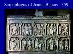 sarcophagus of junius bassus 359