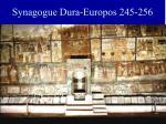 synagogue dura europos 245 256
