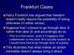 frankfurt cases