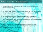 baillie s dendrochronological evidence