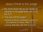 jesus christ is the judge1