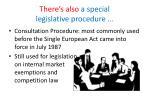 there s also a special legislative procedure1