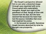 i asaph his god23