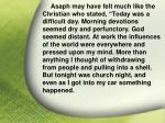 i asaph his god31
