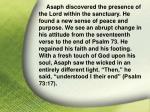 i asaph his god37