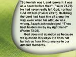 i asaph his god41