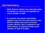 data redundancy2