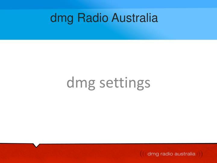 dmg radio australia n.