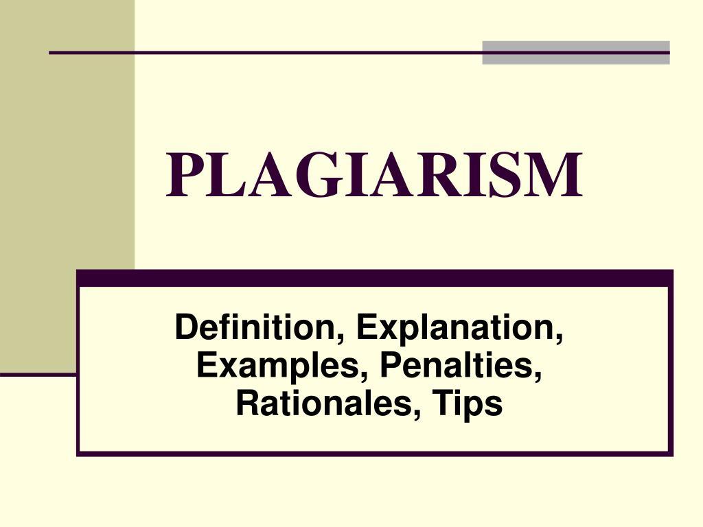 ppt - plagiarism powerpoint presentation - id:997547